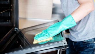 Как отчистить духовку внутри от застарелого жира